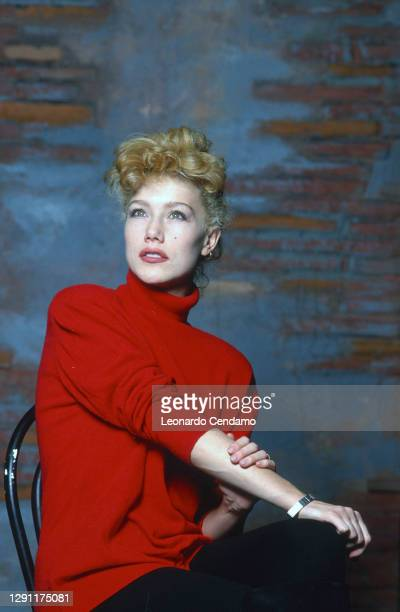 Italian actress Nancy Brilli, Milan, Italy, 23rd March 1986.