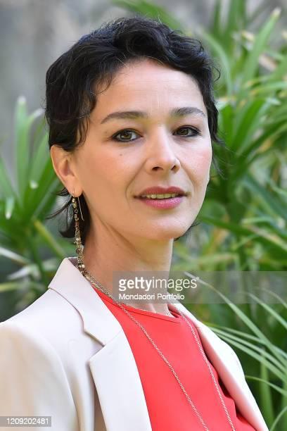 Italian actress Nicole Grimaudo attends Passeggeri Notturni photocall in the Rai studios viale Mazzini Rome February 24th 2020