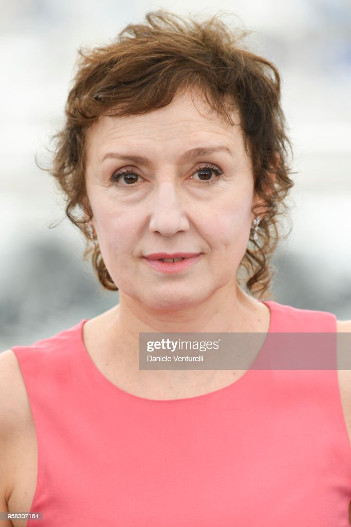 Italian actress Nicoletta Braschi attends the photocall for the 'Happy As Lazzaro (Lazzaro Felice)' during the 71st annual Cannes Film Festival at Palais des Festivals on May 14, 2018 in Cannes, France.