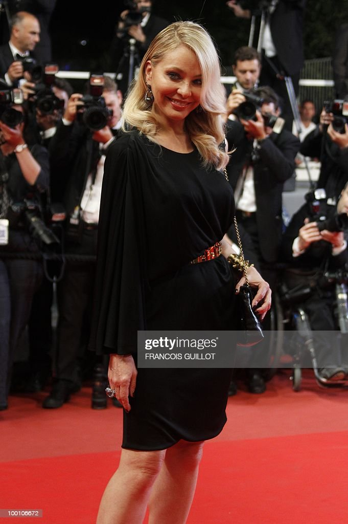 Italian actress Ornella Muti arrives for the screening of 'La Nostra Vita' (Our Life) presented in competition at the 63rd Cannes Film Festival on May 20, 2010 in Cannes.