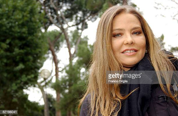 Italian actress Ornella Muti attends a photocall to promote her movie The Heart Is Deceitful Above All Things which also stars Peter Fonda and...