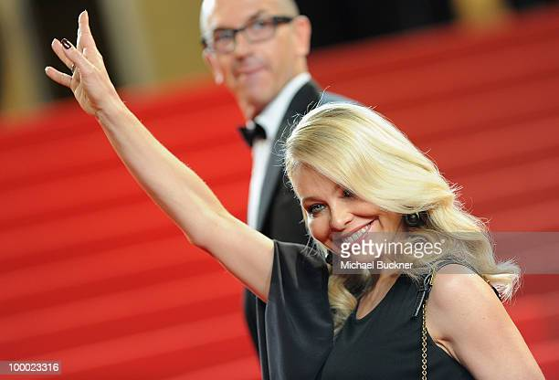 Italian actress Ornella Muti attends the Our Life Premiere at the Palais des Festivals during the 63rd Annual Cannes Film Festival on May 20 2010 in...