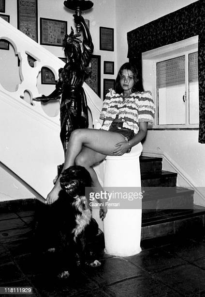 Italian actress Ornella Muti Madrid, Spain.