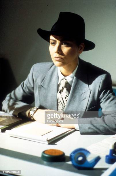 Italian actress Ornella Muti, Rome, Italy, 1991.