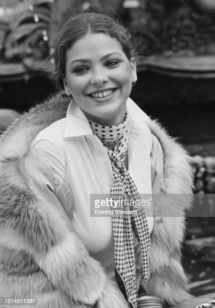 Italian actress Ornella Muti, UK, 5th February 1974.