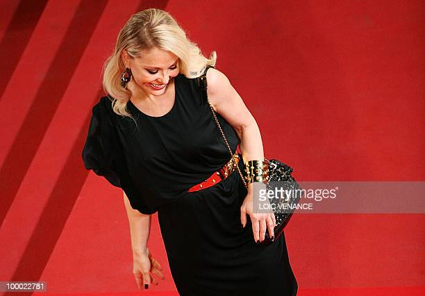 Italian actress Ornella Mutti arrives for the screening of La Nostra Vita presented in competition at the 63rd Cannes Film Festival on May 20 2010 in...
