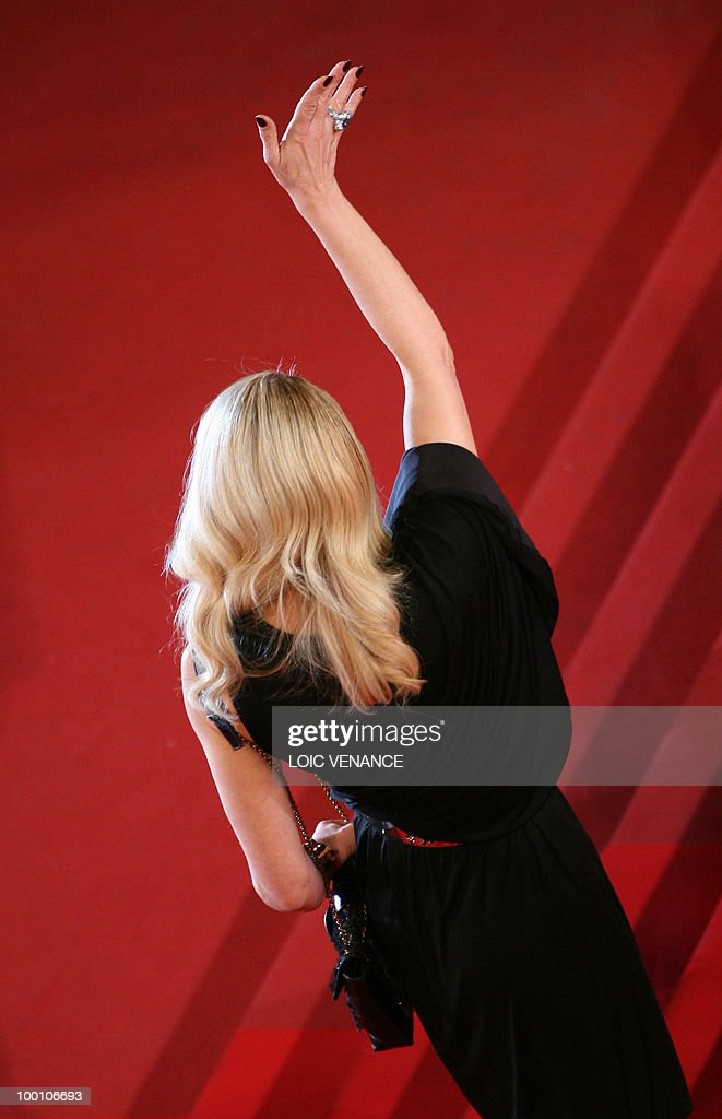 Italian actress Ornella Mutti arrives for the screening of 'La Nostra Vita' (Our Life) presented in competition at the 63rd Cannes Film Festival on May 20, 2010 in Cannes.