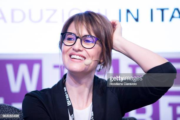 Italian actress Paola Cortellesi attends Wired Next Fest on May 27 2018 in Milan Italy