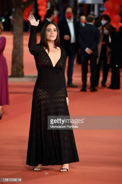 Italian actress Pina Turco at 15th Rome Film Fest 2020. Fortuna – The girl and the giants red carpet. Rome , October 19th, 2020