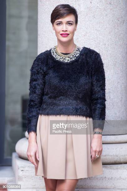 Italian actress Roberta Giarrusso during photocall of the Italian film 'Napoli Velata' directed by Ferzan Ozpetek