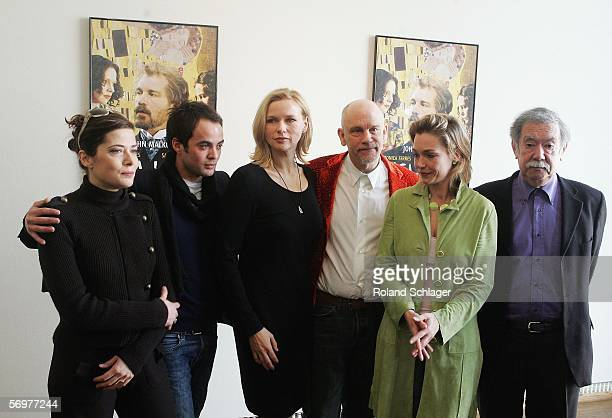 Italian actress Sandra Ceccarelli German actor Nikolai Kinski German actress Veronica Ferres actor John Malkovich Aglaia Szyszkowitz and director...