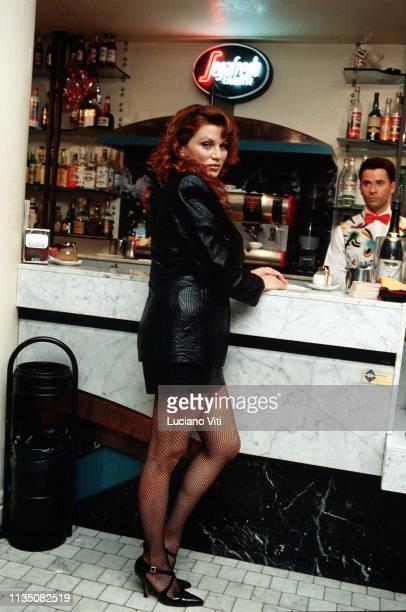Italian actress Serena Grandi Italy circa 1990