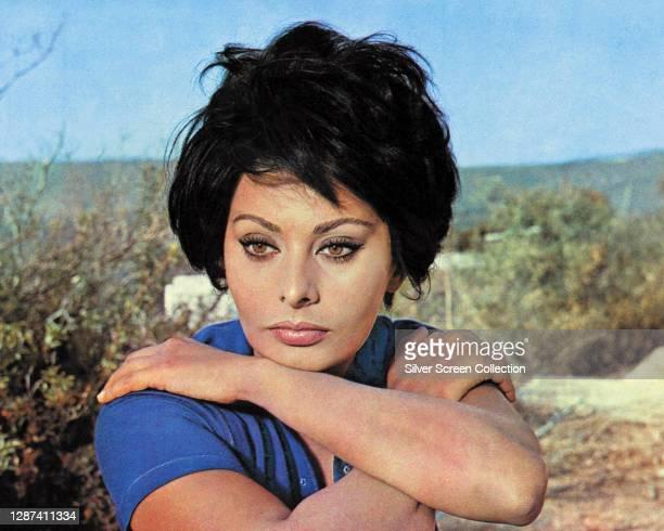 Italian actress Sophia Loren as Judith Auerbach Schiller in the drama film 'Judith', 1966.
