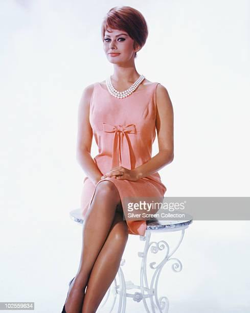 Italian actress Sophia Loren as Lucia Curcio in the film 'It Started in Naples' 1960