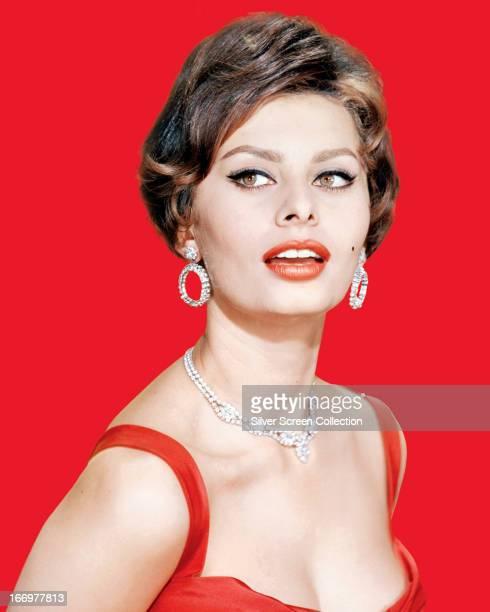 Italian actress Sophia Loren circa 1960