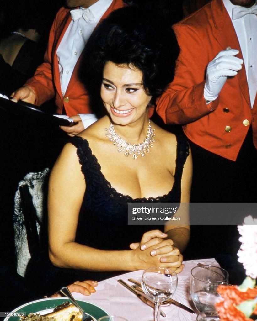 Sophia Loren : News Photo
