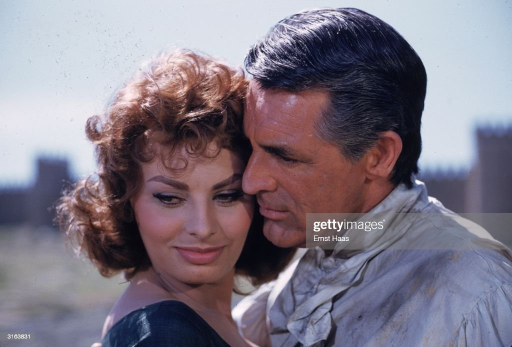 Image result for grant and loren in the pride and the passion