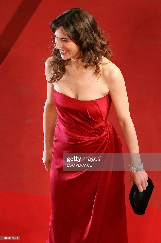 Italian actress Stefania Montorsi arrives for the screening of 'La Nostra Vita' (Our Life) presented in competition at the 63rd Cannes Film Festival on May 20, 2010 in Cannes.