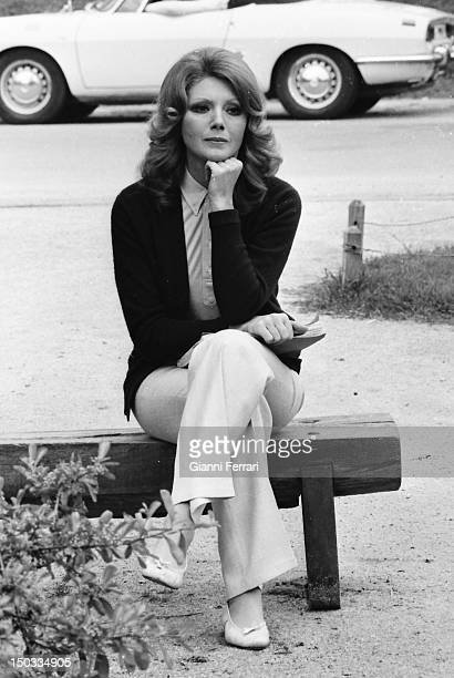 Italian actress Sylva Koscina in Madrid Madrid Spain