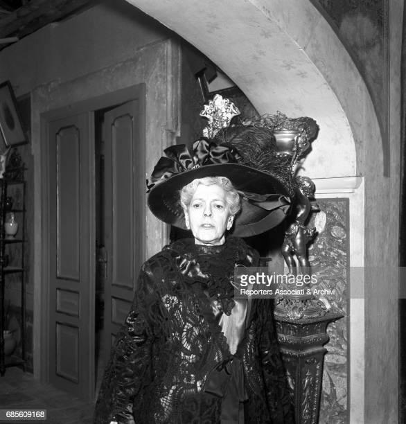 Italian actress Tina Pica in La nonna Sabella 1957