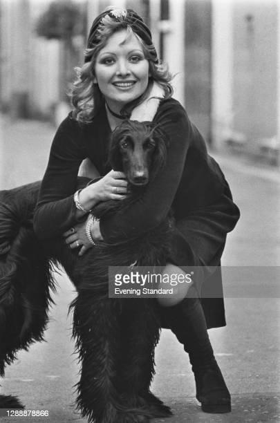 Italian actress Yole Marinelli, UK, November 1971.