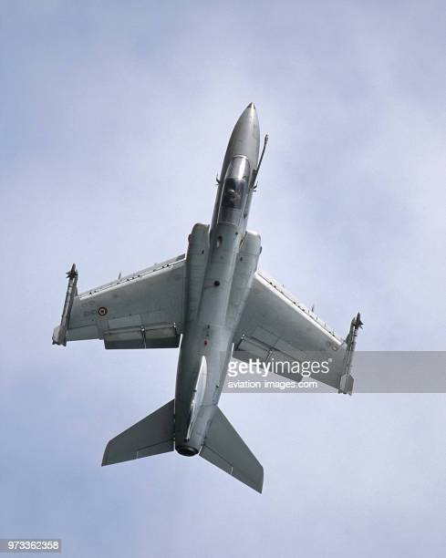 Italian AirForce AMX International AMX in the flyingdisplay at the 2001 Mildenhall Air Fete
