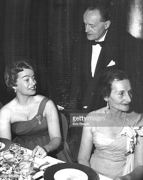 APR 11 1959 APR 13 1959 Italian Ambassador Manlio Brosio chats with Mrs Claude Batault and Madame Brosio at the elaborate dinner