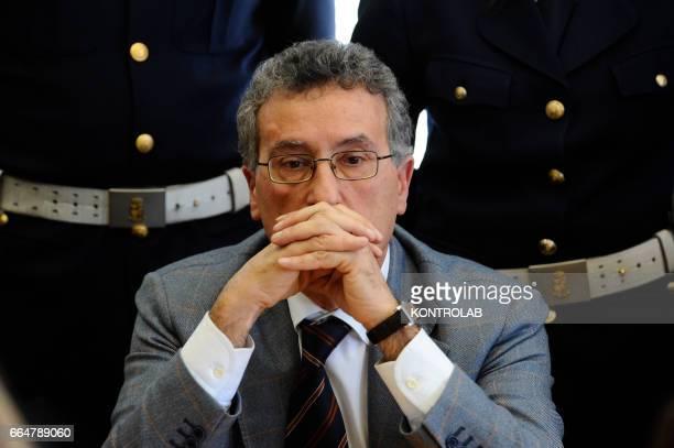 Italian anti Mafia prosecutor Franco Roberti.
