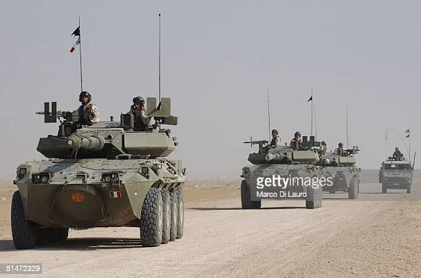 Italian Army Conduct Operation Strong Hammer In Nasiriyah