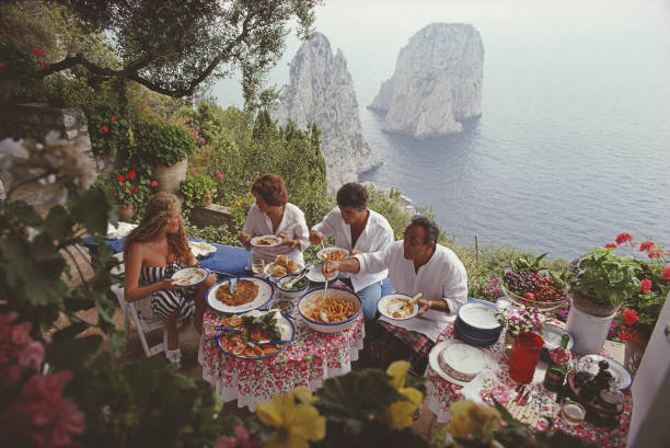 Dining Al Fresco On Capri