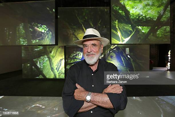 Italian artist Michelangelo Pistoletto attends the opening of Italian Pavilion during La Biennale di Venezia 13th International Architecture...