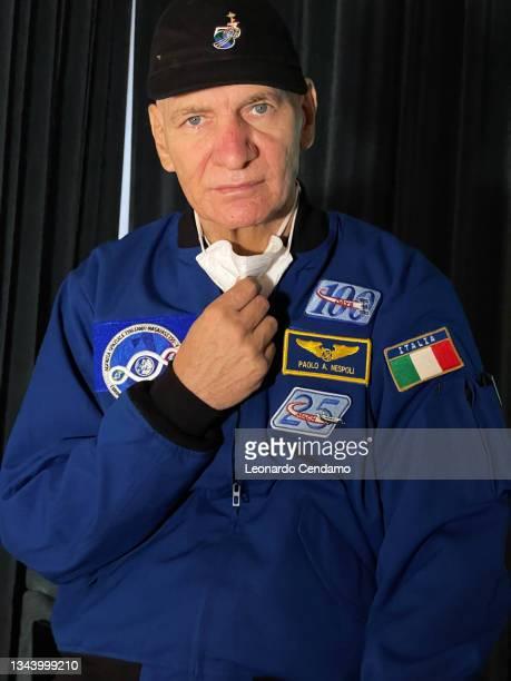 Italian astronaut and engineer Paolo Nespoli, Todi, Umbria, Italy, 26th September 2021.