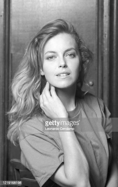 Italian Australian actress Greta Scacchi Venice Film Festival photo shoot Venezia Italy 11th September 1993