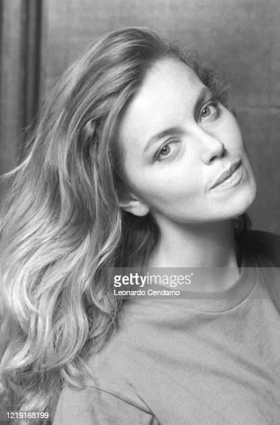 Italian Australian actress Greta Scacchi, Venice Film Festival photo shoot, Venezia, Italy, 11th September 1993.