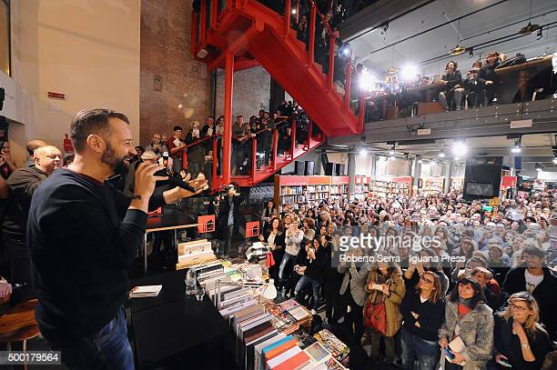 Italian author and actor Fabio Volo attendsthe presentation of his latest book 'E' Tutta Vita' atCoop Ambasciatori Bookshop on December 3 2015 in...
