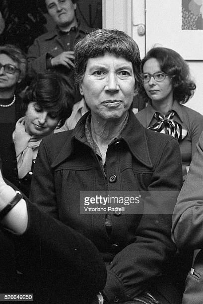 Italian author Natalia Ginzburg, whose work explores family relationships, politics during and after the Fascist years and World War II, and...