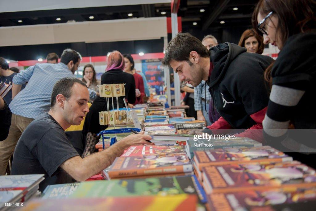 Italian autor, drawer and comics artist Zerocalcare, pictured during Più Libri Più Liberi small fair and media publishing 2017 in Rome