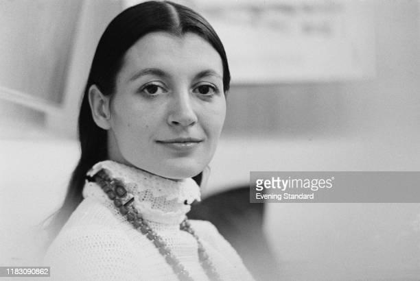 Italian ballet dancer and actress Carla Fracci, UK, 7th August 1970.