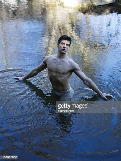 Italian Ballet Dancer Roberto Bolle is photographed for a Self Assignment