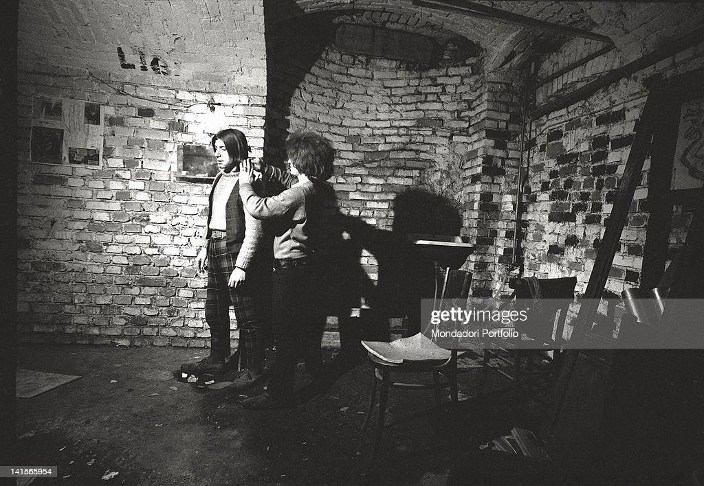 Beatniks In A Club : News Photo