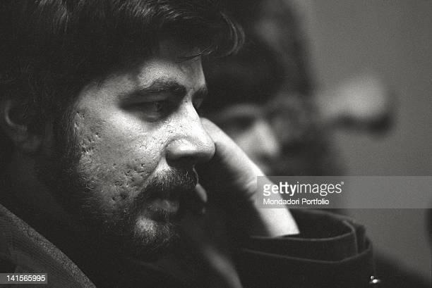 Italian beatnik editor of 'Mondo Beat' magazine Milan 1960s