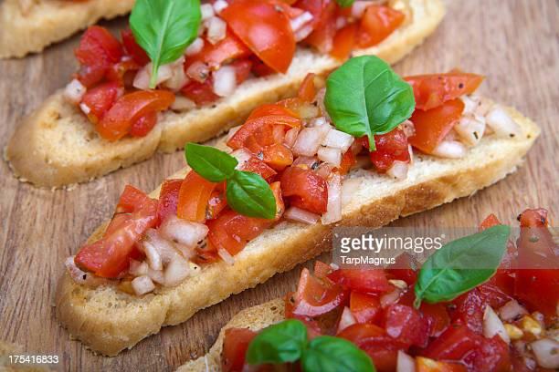 Italian brushetta