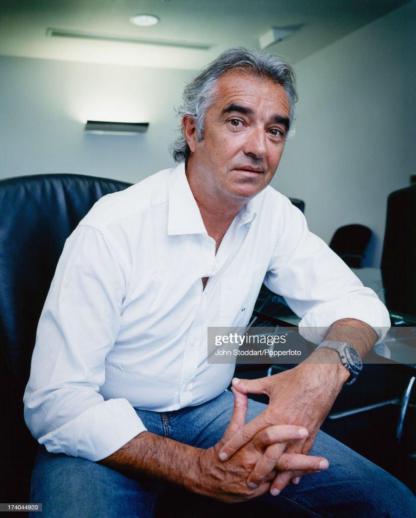 Italian businessman Flavio Briatore, circa 2000.