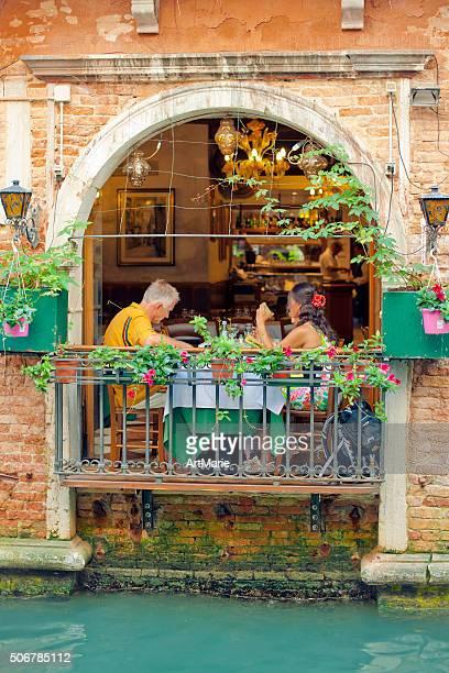 Italian cafe in Venice, Italy