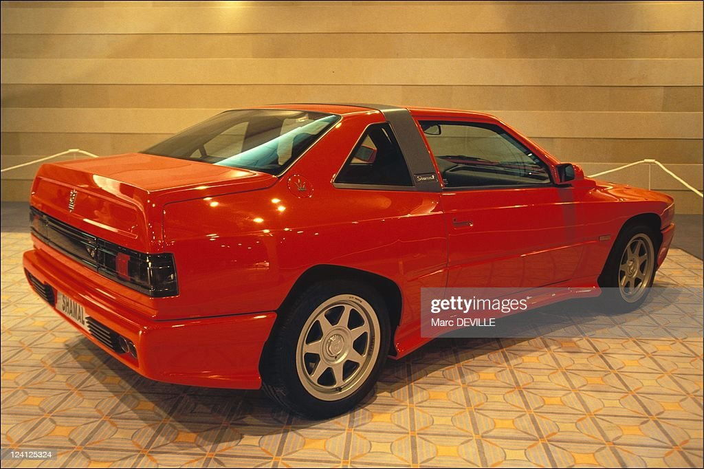 Italian Car Design Exhibition In Deauville, France On August 11, 1994-. : News Photo