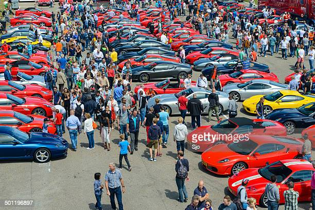 italian car event - motor show stock pictures, royalty-free photos & images