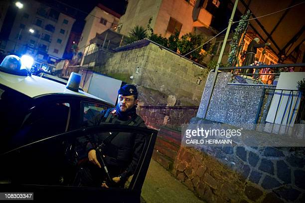 Italian Carabinieri arrest four suspects Naples on January 25 involved in the Sayonara Bar massacre in Ponticelli district On November 26 1989 six...