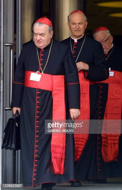 Italian Cardinal Carlo Furno, Arch priest of the patriarchal basilica Santa Maria Maggiore and Grand Master of the Equestrian Order of the Holy...