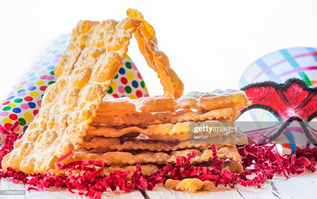 Italian carnival pastry, sweets : Stock Photo