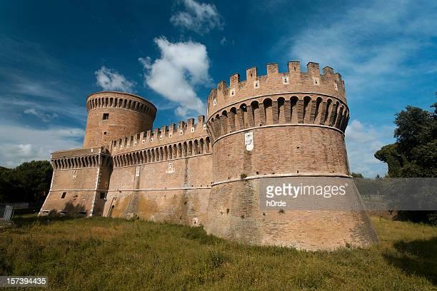 castello italiano - forza italia foto e immagini stock